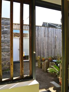 A Arribana house - entrance details