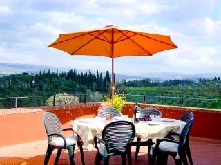 Chianti Tuscany Spectacular Picture Postcard Views-Visit Wineries-Casa Rossa, San Casciano in Val di Pesa
