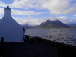Kate's Cottage, Right at the Water's Edge, Isle of Raasay