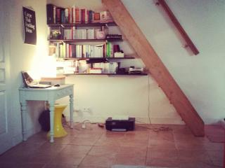 Charmant studio, grand boulevard, París