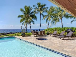 Ocean Front, Spacious 4 bedroom 3.5 bath home in Kona Bay Estates, VIlla Kai-PHKBEVK, Kailua-Kona