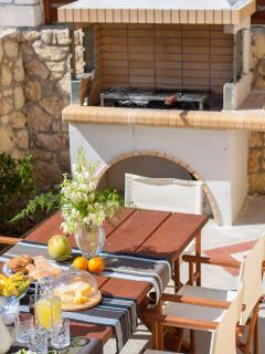 Al fresco dining is an experience you'll love!