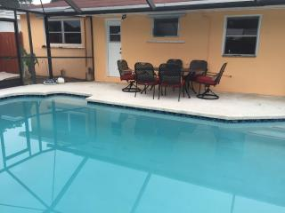 Heated pool 4 bed/ 2 bath renovated house