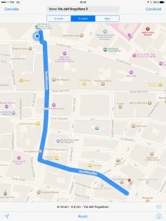 distance from the Duomo Cathedral. 600 mts!!