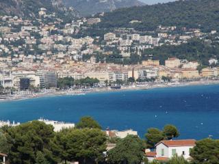180 Panoramablick Nizza, Cap + Meer, Garage, ruhig