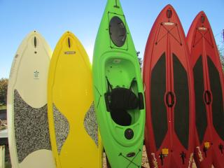 FREE to use  paddleboards, kayaks, bikes,, Saint George