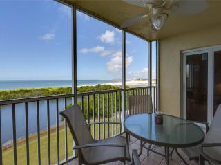 Sand Caper 604, Gulf Front, Elevator, Gym, Heated Pool, Fort Myers Beach