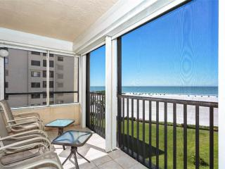 Sandarac B611, Gulf Front, Elevator, Heated Pool, Fort Myers Beach