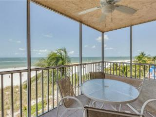 Estero Island Beach Villas 304,  2 Bedrooms, Gulf Front, Heated Pool, Fort Myers Beach