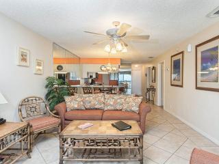 Hibiscus 303-B, 2 Bedrooms, Beach Front, 3 Pools, Tennis, WiFi, Sleeps 7, Saint Augustine