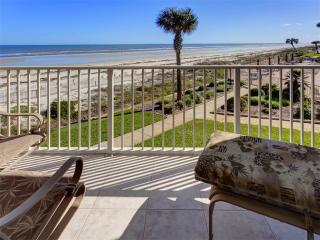 Coquina A214, Luxury Ocean Front, 2 Pools, Tennis, new HDTV, Corner Unit, Saint Augustine