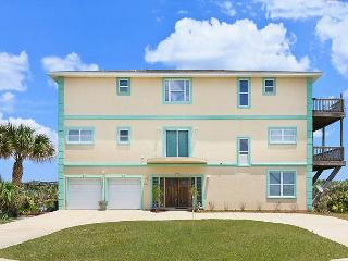 Miracle Eight - 8 Bedrooms, Sleeps 14, Beach Front, Flagler Beach