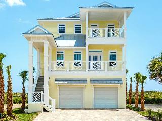 Hawks Cove Cinnamon Beach, 6 Bedrooms Ocean Front, Heated Pool/Spa, Elevato, Palm Coast