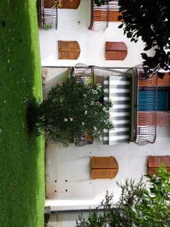 una delle palazzine del residence