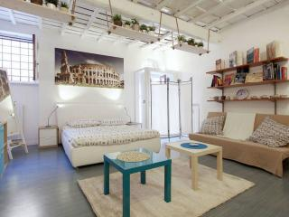 Trastevere Blue apartment in Trastevere with WiFi & gedeelde tuin.