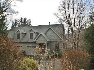 Bishops Ridge is an upscale 3 bedroom duplex with a mountain view., Blowing Rock