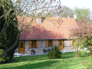 Maison normande à proximité de la mer