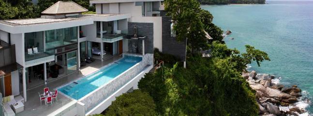 Fantastic Sea Front Villa 9 Kamala Phuket