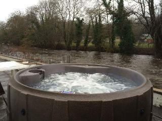 Riverside Property Private Use HOT TUB River Teifi, Llandysul