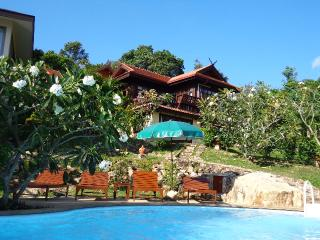 Beachfront villa- wonderful seaview, Koh Samui