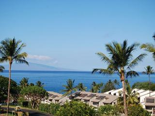 Ocean Views, Peaceful Lanai 2 Bd 2 Ba, A/C, Maui Kamaole #J-217 Great Rates!!