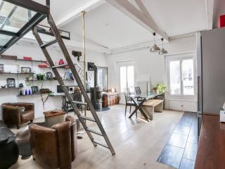 Loft d'artiste en plein coeur de Paris