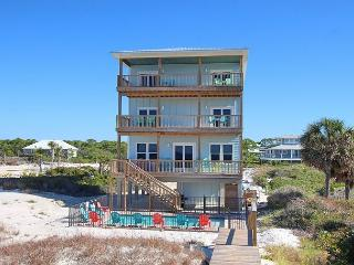 Premier Beachfront N Cape 5 Bed/4.5 Bath Home, Pool, Gulf Front Bedrooms, Cape San Blas