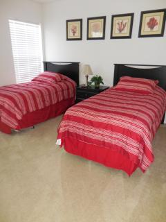 Upstairs twin bedroom 1