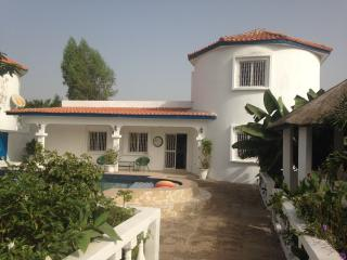 Tigerlily Gardens Brusubi-The Villa. Rent  Double Rooms or the whole Villa