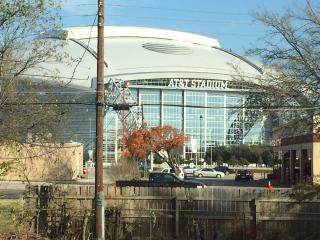 Half  block from Cowboy Stadium, Arlington