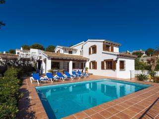 Villa Andurina en Teulada-Moraira,Alicante para 10 huespedes