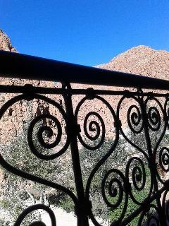 vue de balcon de chambre