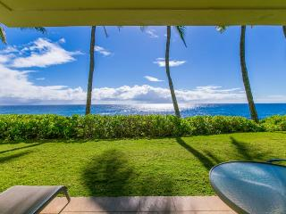 Poipu Shores 102A, Awesome ocean front condo with stunning ocean views. Ground floor. Heated pool. Free car* with stays of 7 nights or more., Koloa