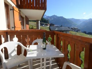 Apartment No. 1 Les Clarines sleeps 7p and is directly on the piste!