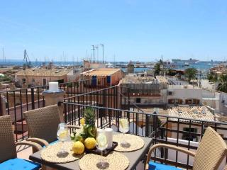 amazing apartment with sea view terrace, Palma de Mallorca