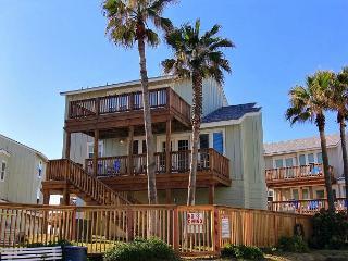 Beach Beauty is a beachfront 3 bedroom 3 bath home! AMAZING views!