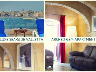 Valletta Arched Gem 2 beds Sea Apartment (VBL2201), La Valeta
