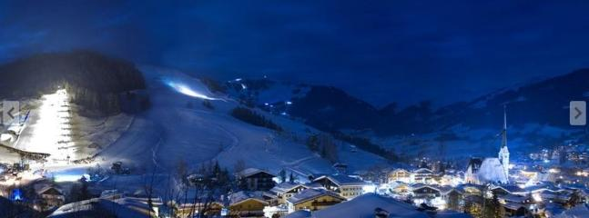 Maria Alm at night
