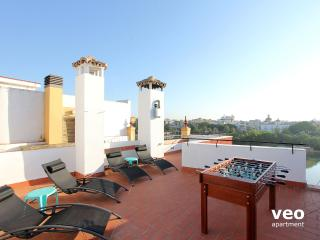 Betis Terrace. Private terrace, views, parking, Seville