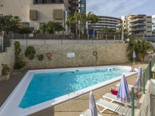 Eqippped apartment 100m away from beach, Playa del Ingles