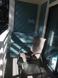 2nd floor balcony.