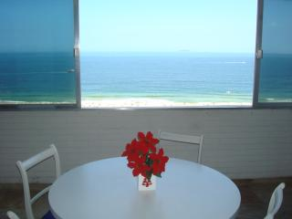 Apartamento vista panorâmica do mar Copacabana