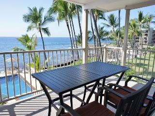 Fantastic Ocean View - One Bedroom Condo at Kona Riviera Villas 203-KRV203