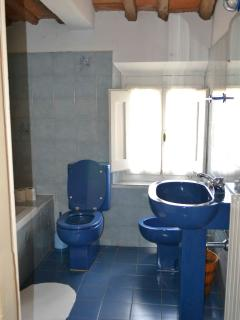 La Casa Colonica - Blue bathroom