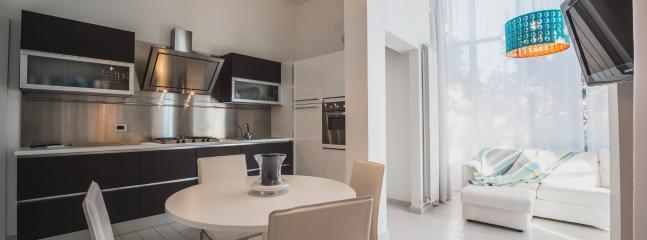 Openspace con cucina e sala