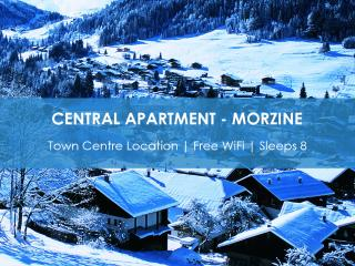 Central & Spacious Morzine Apartment, Morzine-Avoriaz