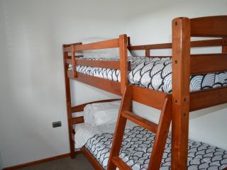 Dormitorio pequeño.