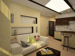 Modern apartment in the eco-district of Moscow, Moskou