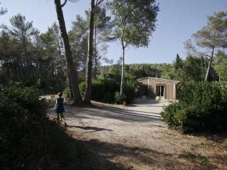 Cabane de la Leque,calme et confort dans la nature, Fontvieille