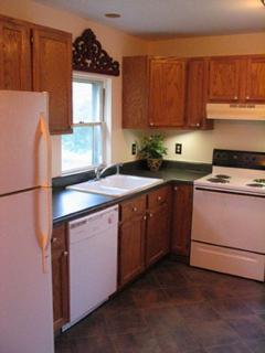 Kitchen with top of the line pots, pans, utensils, separate pantry, microwave, Starbucks coffee, etc
